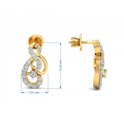 Deiva Round Brillant Diamond Pendant Set