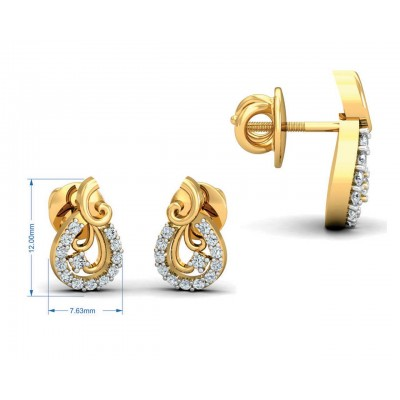 Lani Diamond Earrings Pendant set
