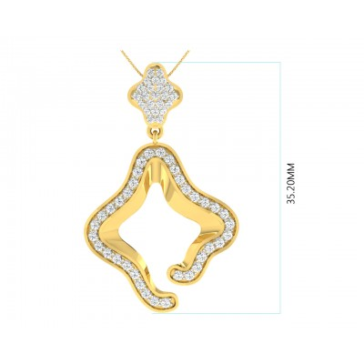 Ilsa Diamond Earrings & Pendant Set