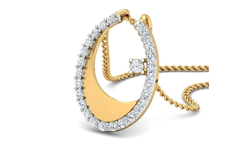 Wina Gold & Diamond Ring, Earring & Pendant Set