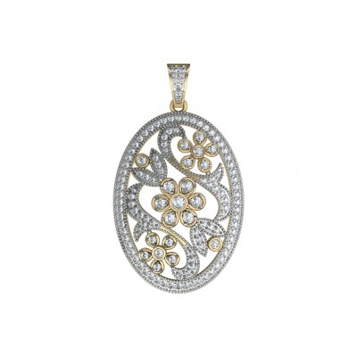 Stylish diamond Pendant