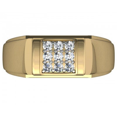 Ansh Diamond Engagement Ring for Men