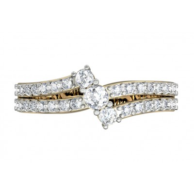Appealing Diamond Solitaire ring