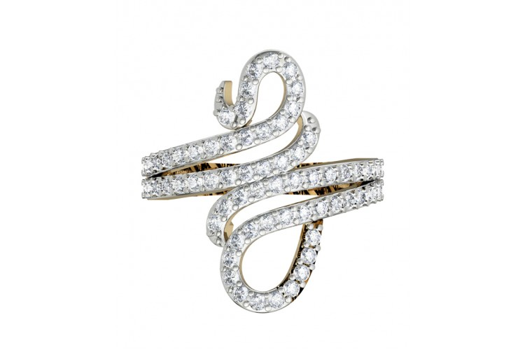 Enchanting Designer Diamond Ring