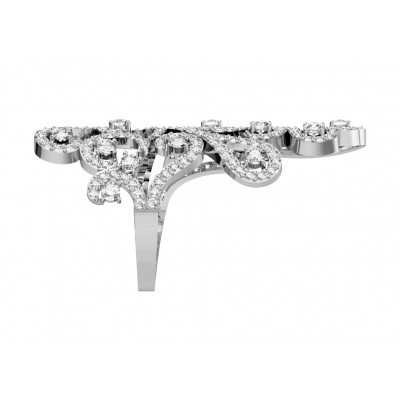 Grandiose Diamond Cocktail ring