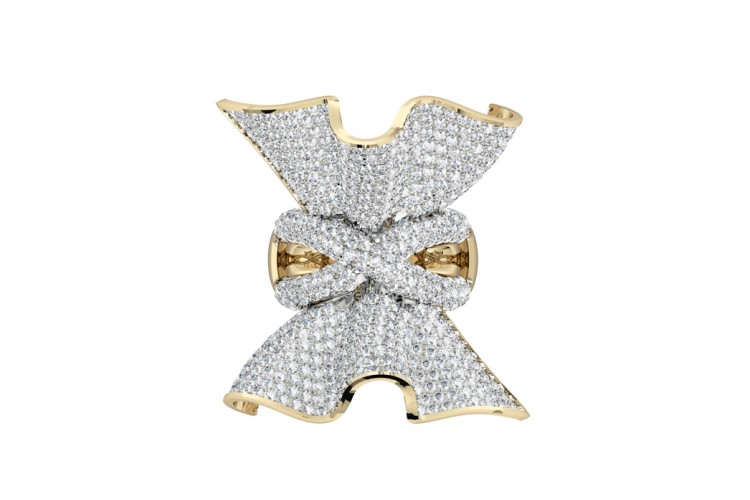 Penelope Diamond Cocktail ring in gold