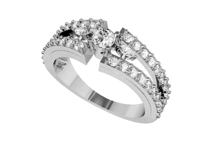 Nina Diamond Engagement Ring