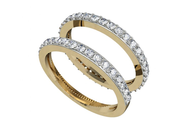 Karen Diamond Stack Rings