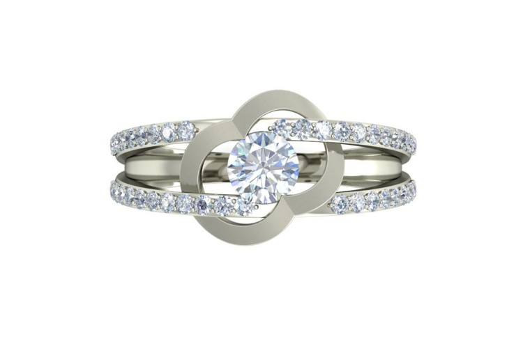 Araiya Solitaire Diamond Engagement Ring