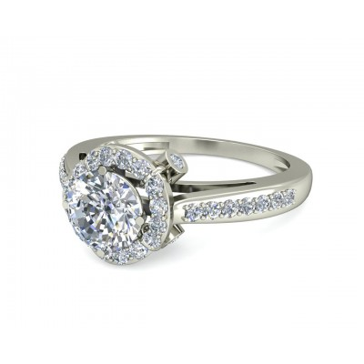 Anmi Diamond Solitaire Ring
