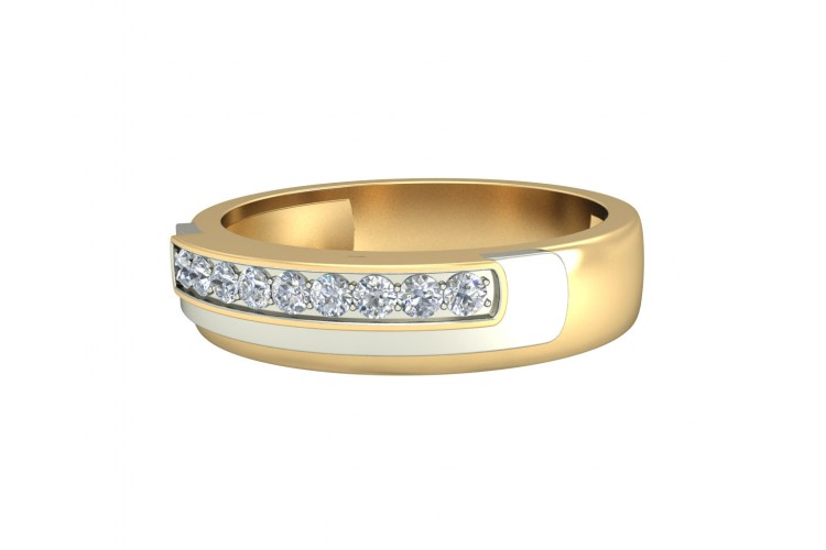 Aarush Men's Diamond Band