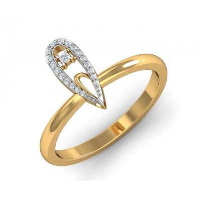 Finger Rings Online Buy Designer Gold Diamond Solitaire