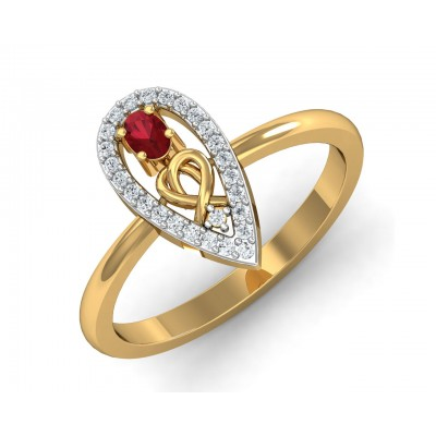 Ishani Ruby & Diamond Ring
