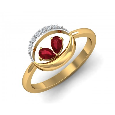 Chiti Ruby Diamond Ring