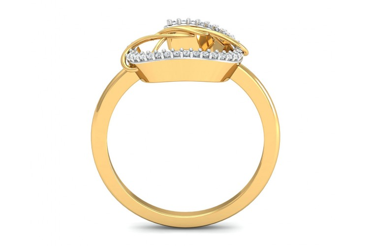 Tanya Diamond Ring in Gold