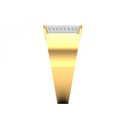 Barry Gents Diamond Ring in Gold