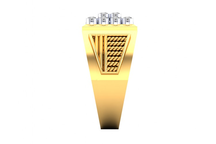 Liam Gents Diamond Ring in Gold