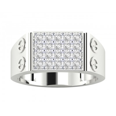 Walter Gents diamond ring in 18k Gold