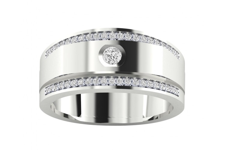 Maxim diamond ring in 18k Gold
