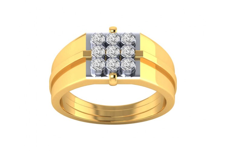 Kane diamond ring in 18k Gold