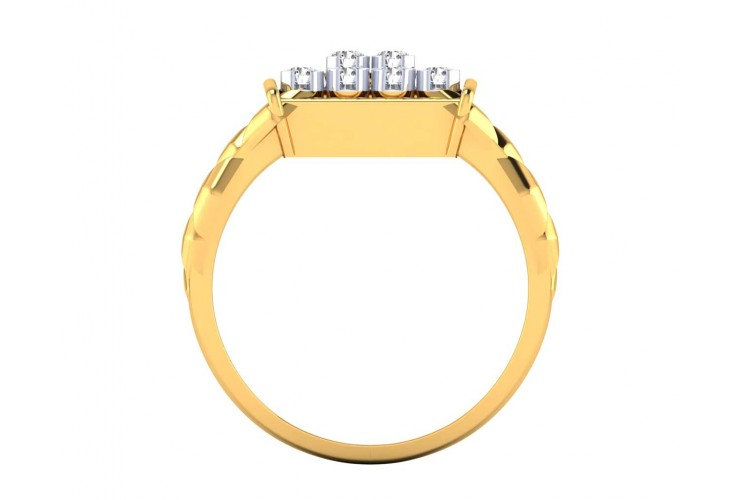 Percy diamond ring in 14k Gold