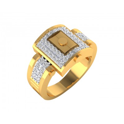 Evans diamond ring in 18k Gold