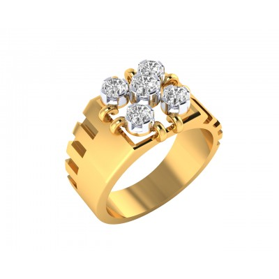 Nevile diamond ring in 18k  Gold