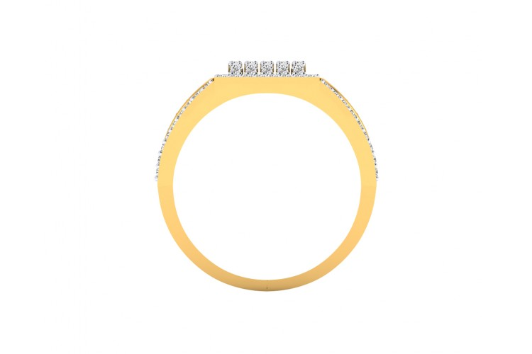 Ramsey diamond ring in 18k  Gold