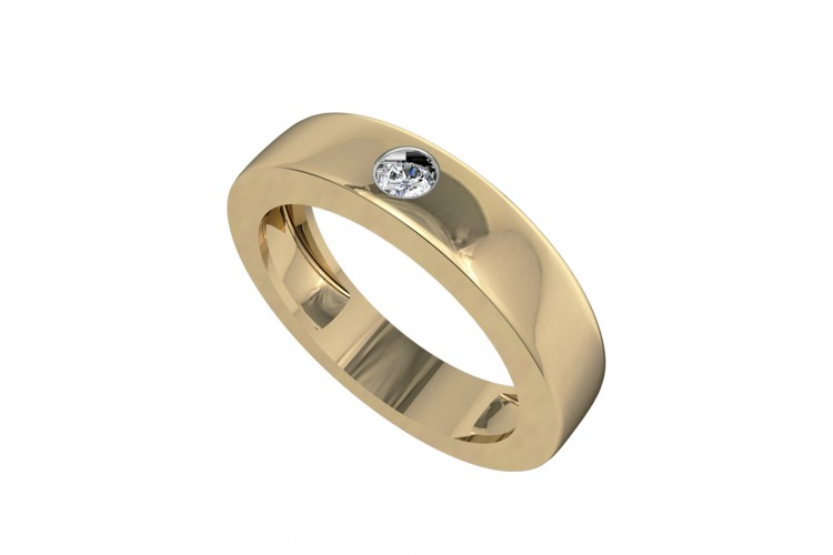 Buy Sarvesh Single Diamond Band Online In India At Best Price