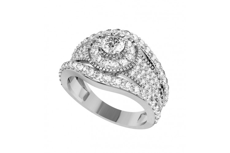 Sophisticated Diamond engagement ring