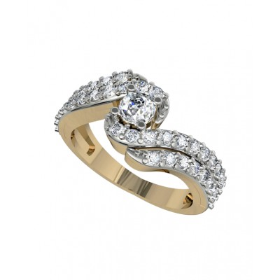 Sparkling Solitaire Diamond Engagement ring