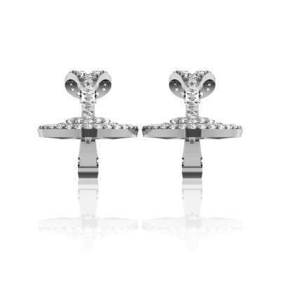 Aalia Day & Nite Diamond Look Earrings