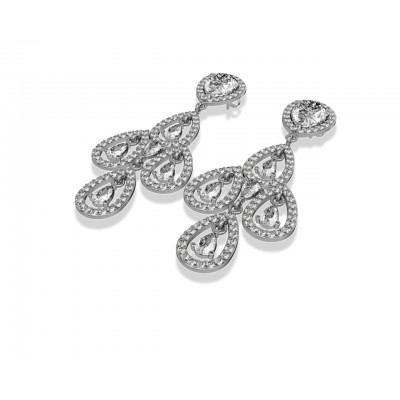 Aaisha American Diamond Danglers