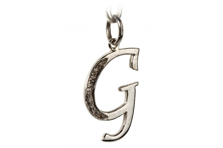 Buy alphabet g pendant with diamonds online in india at best price alphabet g pendant with diamonds aloadofball Images