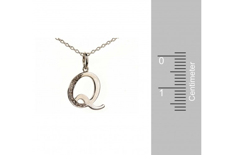 Buy alphabet q pendant with diamonds online in india at best price alphabet q pendant with diamonds mozeypictures Images