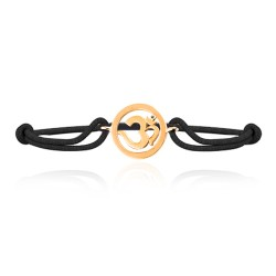 Om Single Diamond Bracelets