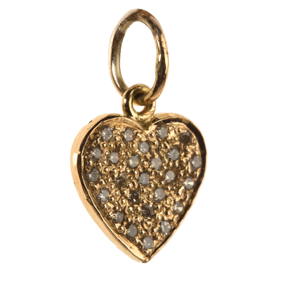 Heart Of Diamonds Charm